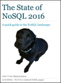State Of NoSQL 2016 cover