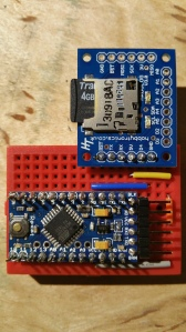 Ardu Logger V3 and Arduino Pro Mini