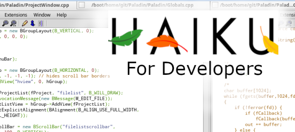 Haiku for Developers